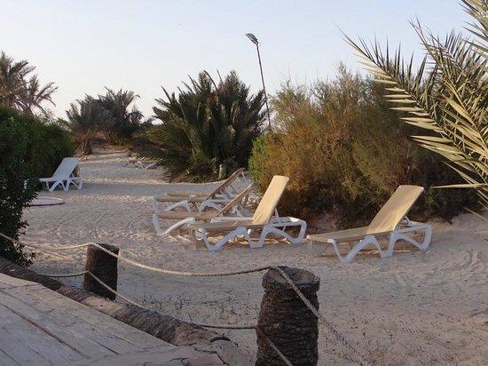 Seabel Rym Beach : coin tranquille