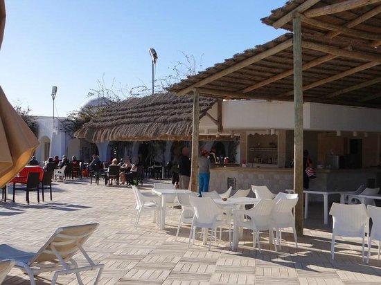 Seabel Rym Beach : bar extérieur