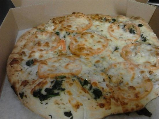 Specks Deli and Gourmet Pizza: spinach & feta pizza