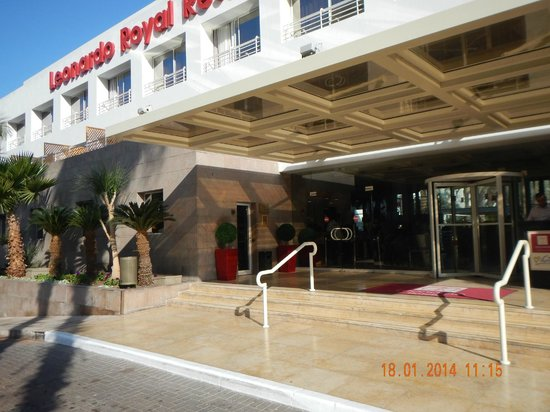 Leonardo Royal Resort Hotel Eilat: Вход.