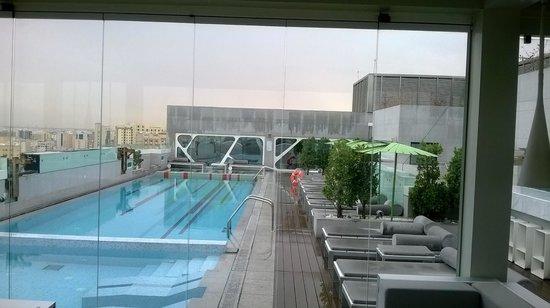 Amari Doha Qatar: View from the terrace pool