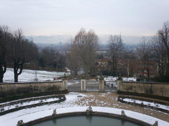 Villa della Regina: fontana