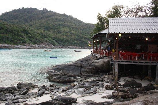Bungalow Raya Resort: Ristorante e Ricezione Resort