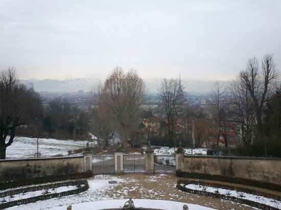 Villa della Regina: vista panoramica