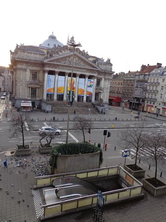 Brussels Marriott Hotel Grand Place: View from room