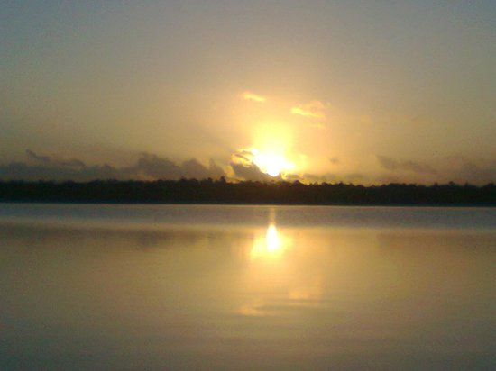 Bacalar Lagoon Resort: Salida de sol