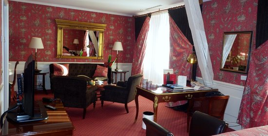 Hotel d'Angleterre : our suite