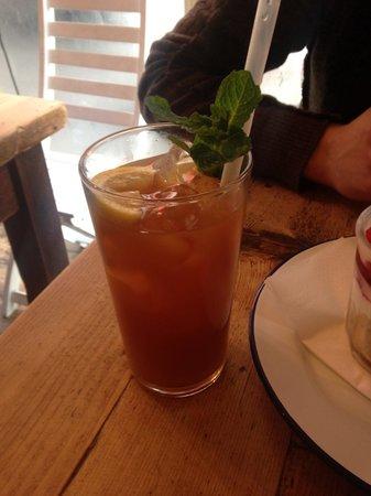 The Breakfast Club: Iced tea fait maison