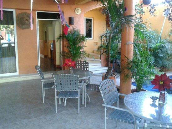 Hotel Las Salinas: área del alberca