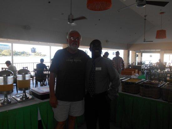 Radisson Aquatica Resort Barbados : Richard, Restaurant Manager