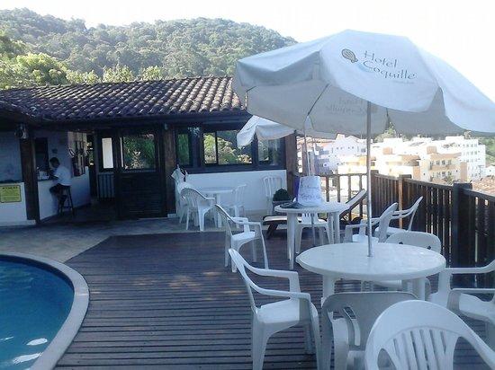 Hotel Coquille - Ubatuba: maravilhosa.aquecida