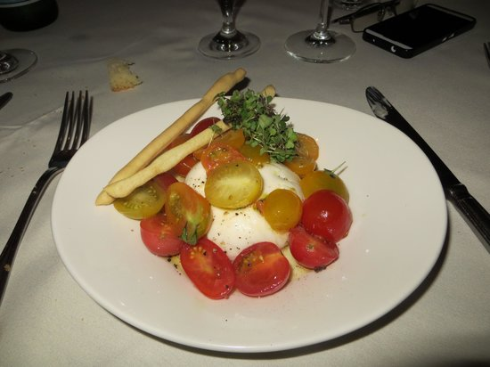BICE Ristorante: Burrate et tomates