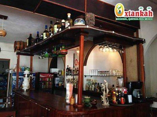 podra disfrutar de sus cocteles favoritos en el bar de oxtankah y pasar una velada inolvidable