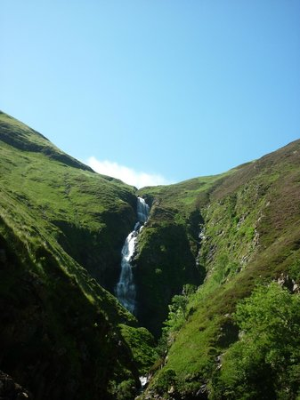Grey Mare's Tail in July