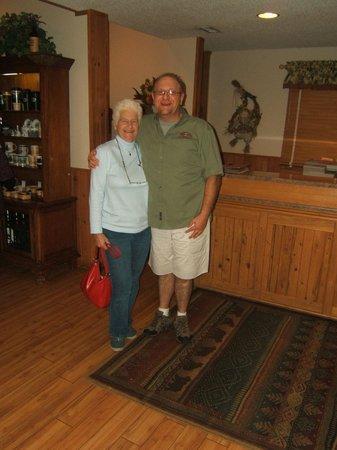 Jonathan Creek Inn and Villas : staff