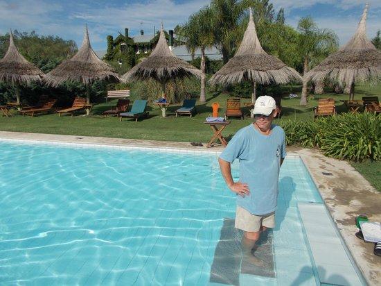 La Casa de los Limoneros: Pool area