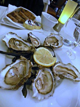 Hotel Cafe de Paris: les huitres