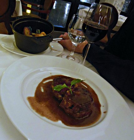 Hotel Cafe de Paris : agneau