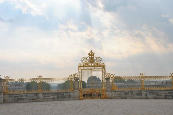 Palacio de Versalles: Detail poort