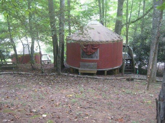 Falling Waters Adventure Resort: Yurt