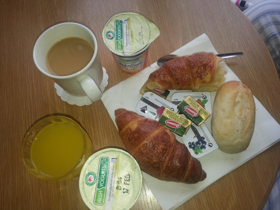 Waterford Marina Hotel: some of our breakfast xx