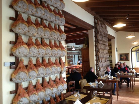 Culatelleria: Sala ristorante
