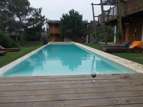 Posada Arenas de Jose Ignacio : Pool view looking at back rooms
