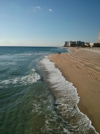 Sea Horse Motel: The beach