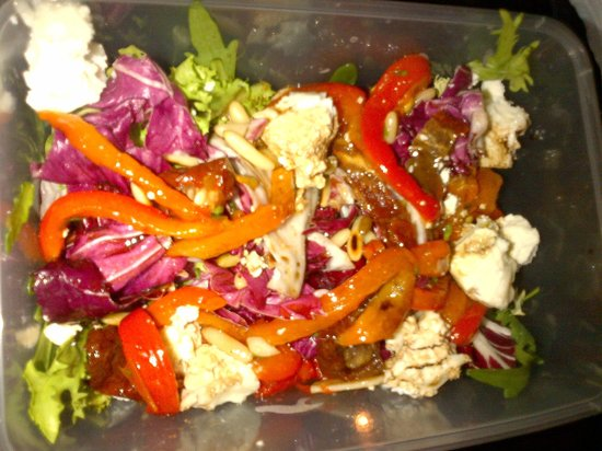 Carluccio's: Goat Cheese & Pepper Salad