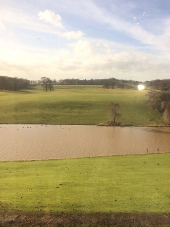 Wynyard Hall: View from Duke of Wellington
