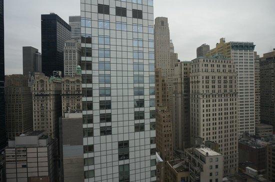 New York Marriott Downtown : виды из окна номера, 33 этаж