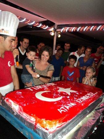 Turunc Hotel: Турецкая ночь