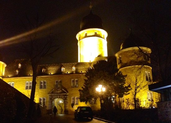 Schloss Montabaur: Aften stemning