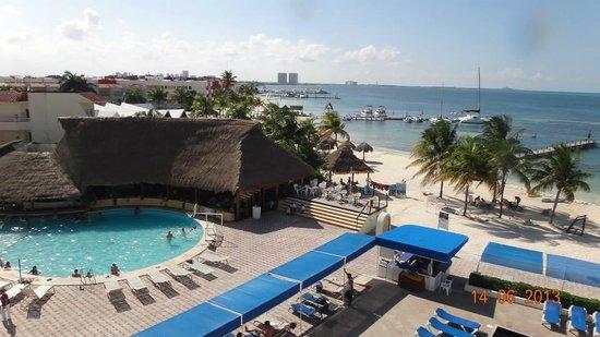 Aquamarina Beach Hotel: desde la hab