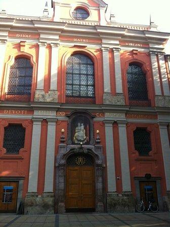 New Town Hall (Neus Rathaus) : Еще одно знание на Карлплац