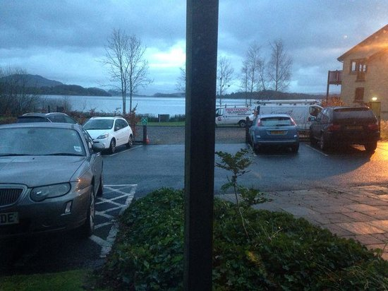 Lodge on Loch Lomond: the view of the loch