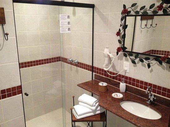 Pousada Boutique Bella Nina : Banheiro muito bom