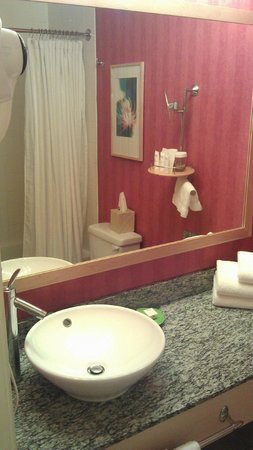 Wild Palms Hotel - a Joie de Vivre Hotel : relatively spacious bathroom