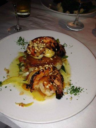 Bistro 821 : Delicious prawn dinner