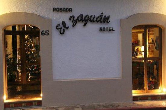 Hotel Posada El Zaguan : Fachada