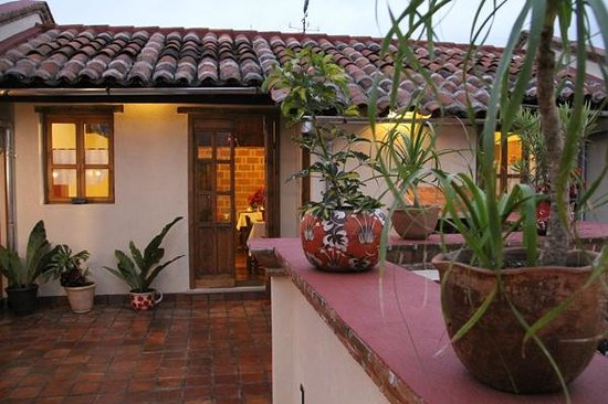 Hotel Posada El Zaguan : Terraza