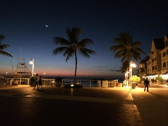 The Westin Key West Resort & Marina : Stunning KW Evening Post-sunset On Boardwalk