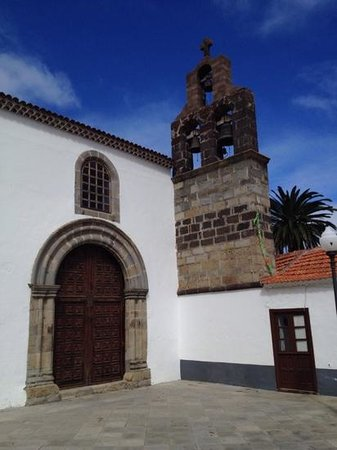 Apartamentos Los Telares: 'El Convento', just down from Los Telares - the bells chime throughout the day, adding real auth