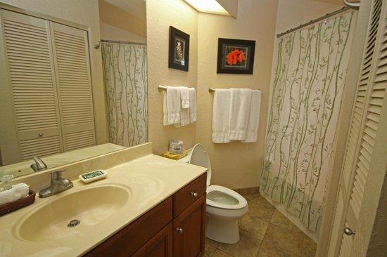 Castle at Princeville : Bathroom