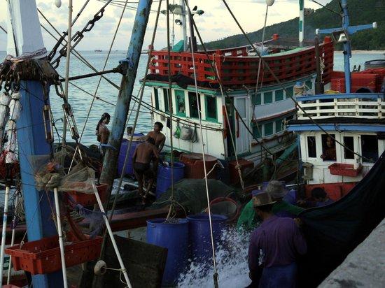 Ao Chaloklum Bay : на рейде