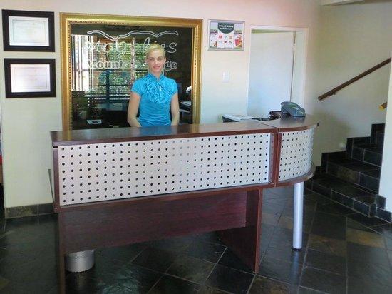 Magalies Mountain Lodge: Reception