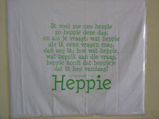 Hotel Happy Happy: väggprydnad