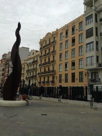 Hotel Zenit Valencia : Отель Зенит