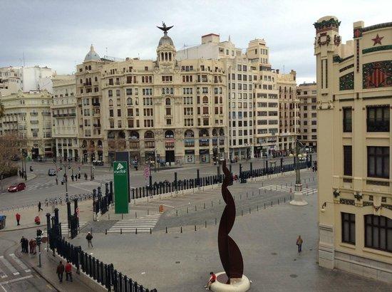 Hotel Zenit Valencia : Вид с балкона номера