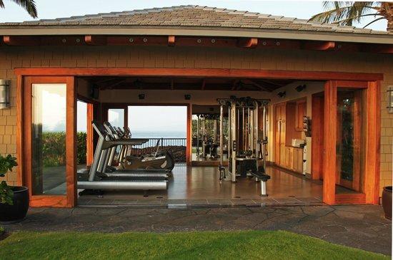 Halii Kai Resort At Waikoloa Beach Fitness Cabana